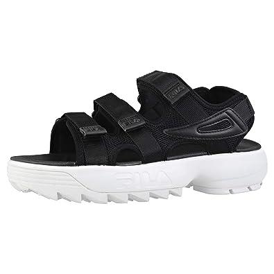 bfa46bb21 Fila Disruptor Sandal Sandals Black  Amazon.co.uk  Shoes   Bags