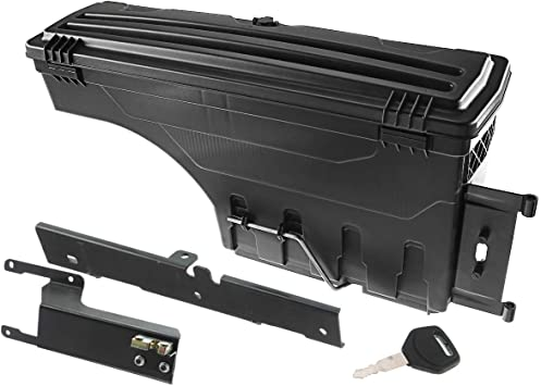 A-Premium Truck Bed Storage Box Tool Box Compatible with Ford F-250 F-350 Super Duty 2017-2020 Pickup Rear Left Driver Side