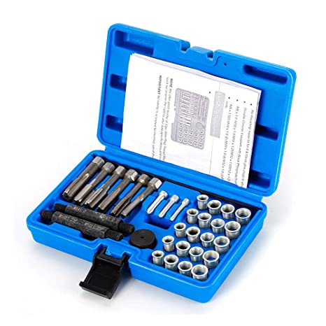 OUBAYLEW oubay Lew 33tlg Bujía electrodos Cambio Juego de reparación Desmontaje Herramientas Set
