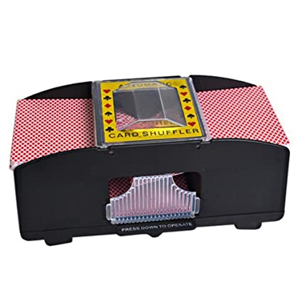 SAXTEL Barajador Automático, Mezclador de Cartas de Robot de ...