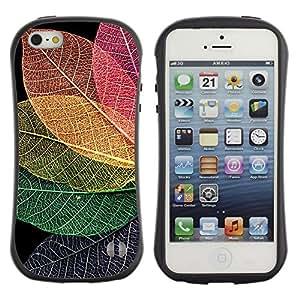Suave TPU GEL Carcasa Funda Silicona Blando Estuche Caso de protección (para) Apple Iphone 5 / 5S / CECELL Phone case / / Fall Autumn Colorful Nature /