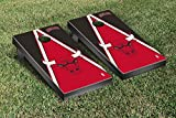 Chicago Bulls NBA Basketball Cornhole Game Set Triangle Version