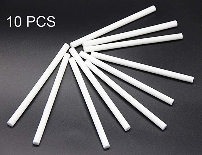 PQZATX 40Pcs Cotton Swab Filters Refill Sticks Replacement Wicks for Portable Personal USB Powered Humidifiers Aroma Maker