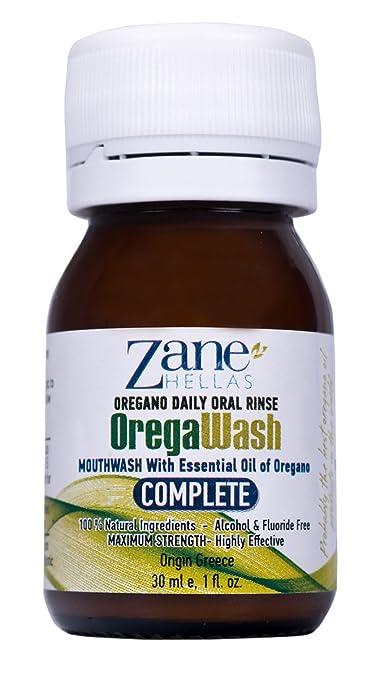 2 opinioni per OREGAWASH oregano giornaliero collutorio orale. 100% naturale. 1 Fl. Oz. – 30ml.