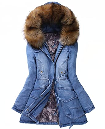 Winter jeansjacke