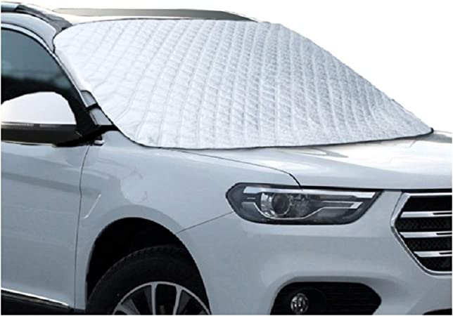 Zjuan Car Windscreen Frost Snow Cover Sun Shade Protector Ice Windshields
