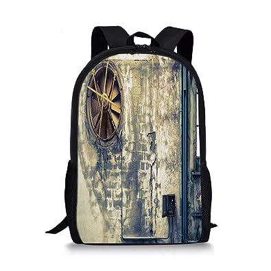 HOJJP ñ mochila escolar von ruedas Pug Stylish School Bag ...