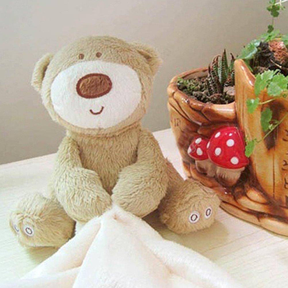 Comodidad manta, 24 cm Ultra suave manta de seguridad para bebé con oso de peluche para recién nacido regalo rosa rosa: Amazon.es: Bebé
