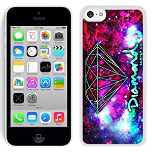 High Quality Case Easy Use Design with Diamond Supply Co Iphone 5c Phone Case in White