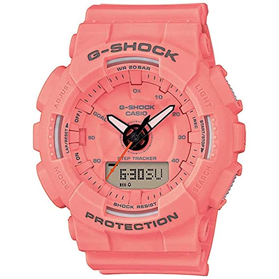 Casio Reloj Analógico-Digital para Mujer de Cuarzo con Correa en Plástico GMA-S130VC-4AER: Amazon.es: Relojes