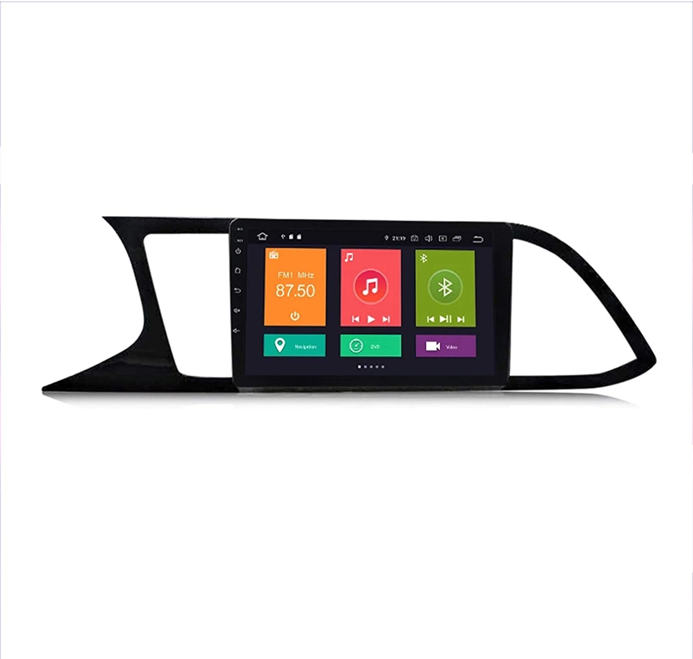 HP CAMP para Seat Leon 3 2012-2020 Sat Nav Doble DIN Car Stereo Radio 9 Pulgadas Pantalla táctil Unidad Principal Reproductor Multimedia Receptor de Video BT