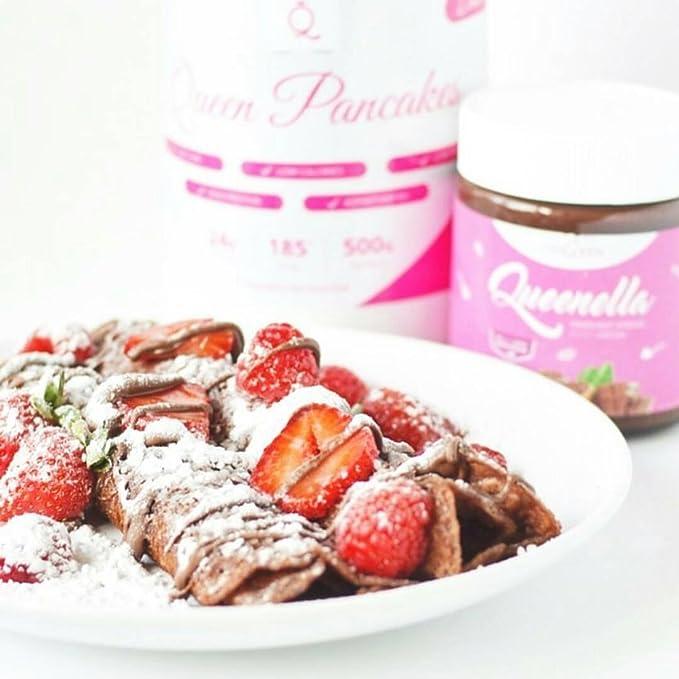 GymQueen Snickerdoodle - Polvo para tortitas de proteína bajo en carbohidratos, 500 gr: Amazon.es: Alimentación y bebidas