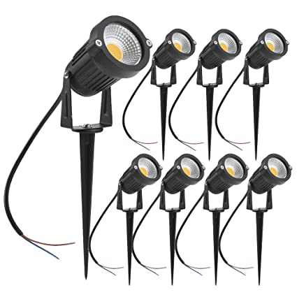 Phenomenal Amazon Com Zuckeo 5W Led Landscape Lights 12V 24V Garden Lights Wiring 101 Vieworaxxcnl