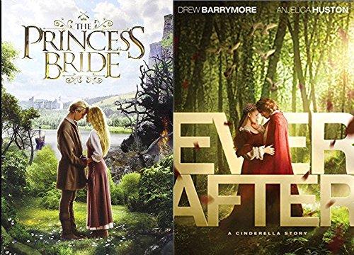 Ever After & Princess Bride DVD Set Classic Family Fantasy Movie Bundle Fairy Tale Double Feature