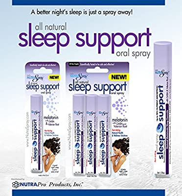 Melatonin, Valerian Root, Gaba, Sleep Aid for Insomnia, Sleep Apnea or Occasional Sleep Disorders