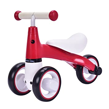 Amazon.com: HONEY JOY - Bicicleta de equilibrio para bebé ...