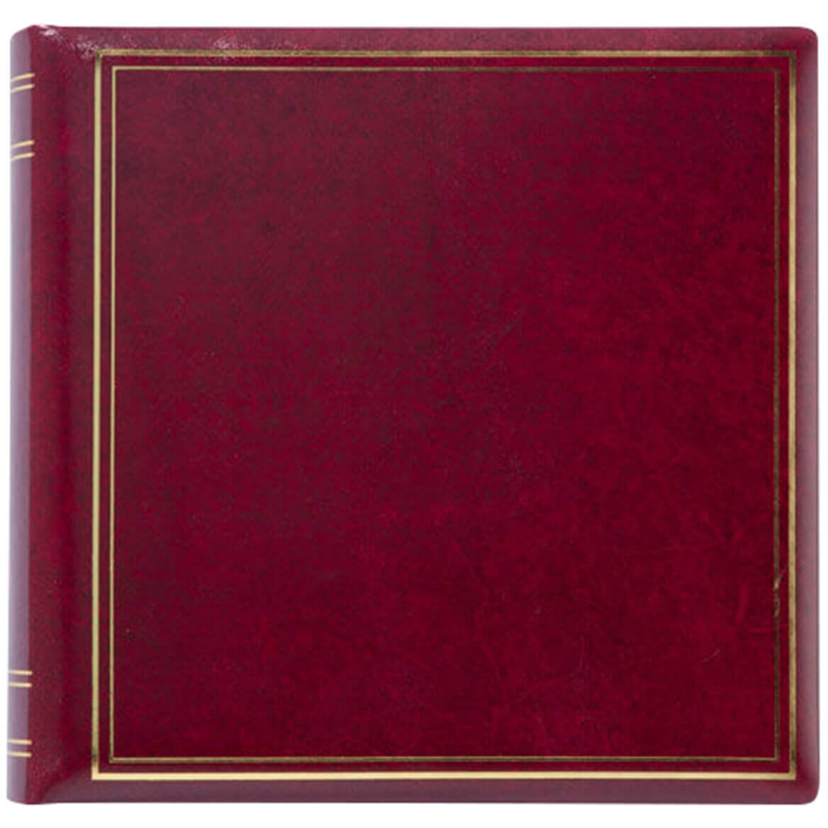 Exposures Personalized Presidential Oversize Album-Burgundy 1 Line