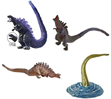 Shin GODZILLA Complete Set 4 FIGURES High Grade HG Part 2 Bandai Gashapon