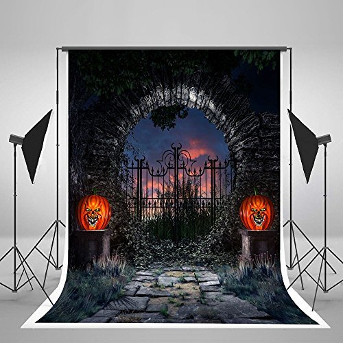 Kate 5x7ft Halloween Photography Background Ghost Horror Photography Backdrop Foldable No -