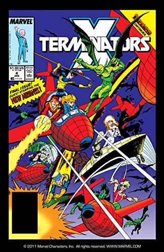 X-Terminators #4 for sale  Delivered anywhere in USA