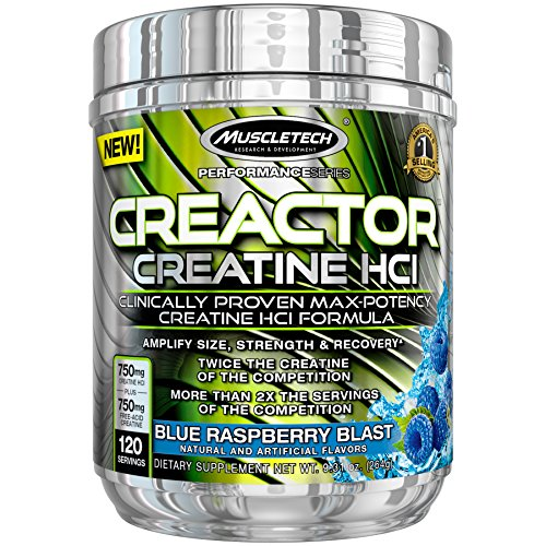 MuscleTech Creactor Creatine Micronized Raspberry