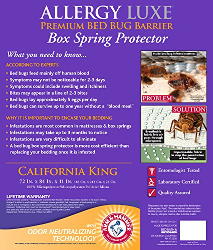 Arm And Hammer Bed Bug Mattress Protector