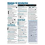 Windows 10 Introduction Quick Reference Guide (Cheat Sheet of Instructions, Tips & Shortcuts – Laminated)