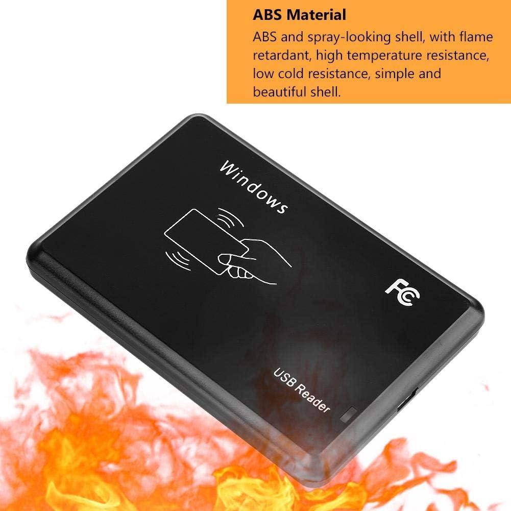 Bicaquu RFID Card Reader Access Control USB Card Reader Long-Distance UHF Card Reader