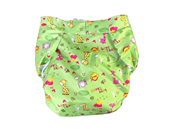 Purple Bicycles HappyEndings Teen//Adult Hook and Loop Closure Stain Resistant Reusable Cloth Diaper for Incontinence
