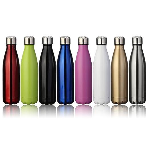 224 opinioni per KING DO WAY Portatile Borraccia in Acciaio Termica Bottiglia Sportive on