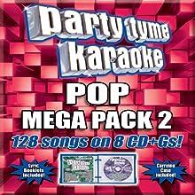 Party Tyme Karaoke - Pop Mega Pack 2 [8 CD][128-Song Party Pack]
