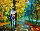 Gossipy Friends is a Limited Edition print from the Edition of 400. The artwork is a hand-embellished, signed and numbered Giclee on Unstretched Canvas by Leonid Afremov. Embellishment on each of these pieces will be slightly different, but the image...