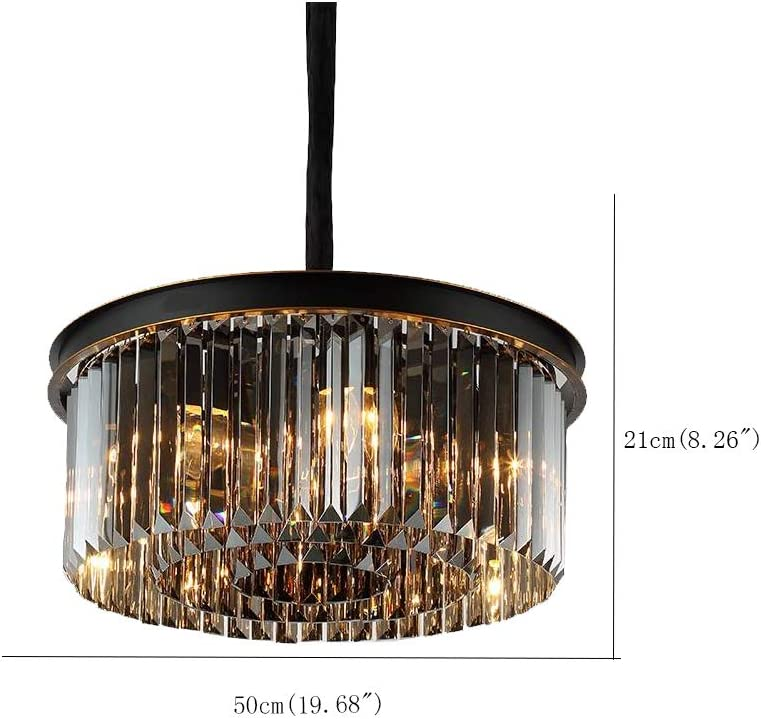 Shop Modern & Contemporary Chandelier 4 lights Drum Golden