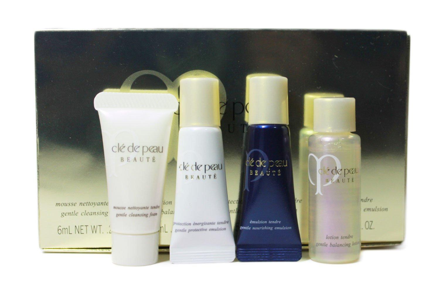 Authentic Cle De Peau Gentle Protective Emulsion Traveller Set