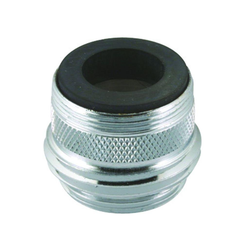 Faucet to Hose Adapter, Male 15/16-27 OR Female 55/64-27 to Male 3/4 ...