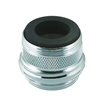 Genial Faucet To Hose Adapter, Male 15/16 27 OR Female 55/64