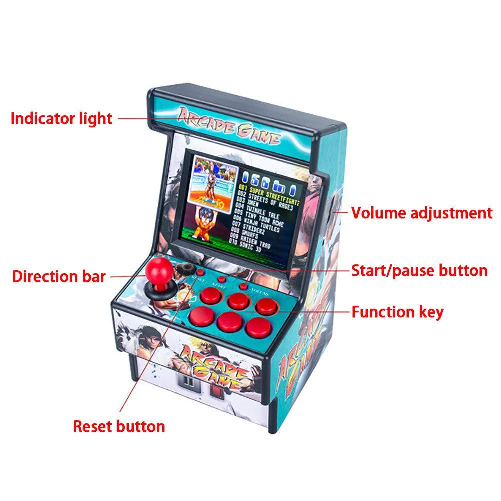 Amazon.es: BESTEU Mini Arcade Handheld Game Consolas Retro ...