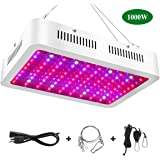 1000w LED Grow Light - Full Spectrum LED Grow Lamp with UV and IR Plant Grow Light for Indoor Plants Veg and Flower by KOWEKSAT - (100Pcs 10W LEDs)