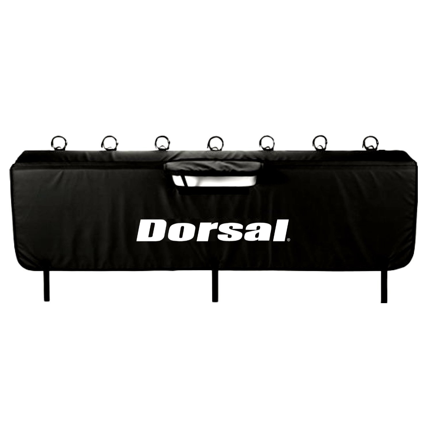 DORSAL Truck Tailgate Pad Black Surf Bike for Surfboard Bicycle Payload by DORSAL