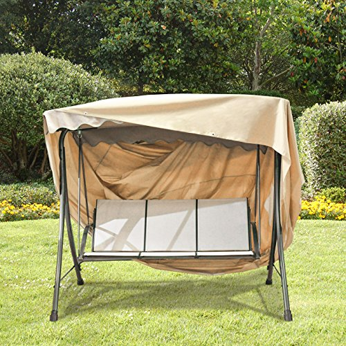 Grand Patio Outdoor Swing Cover Weather Resistant 3