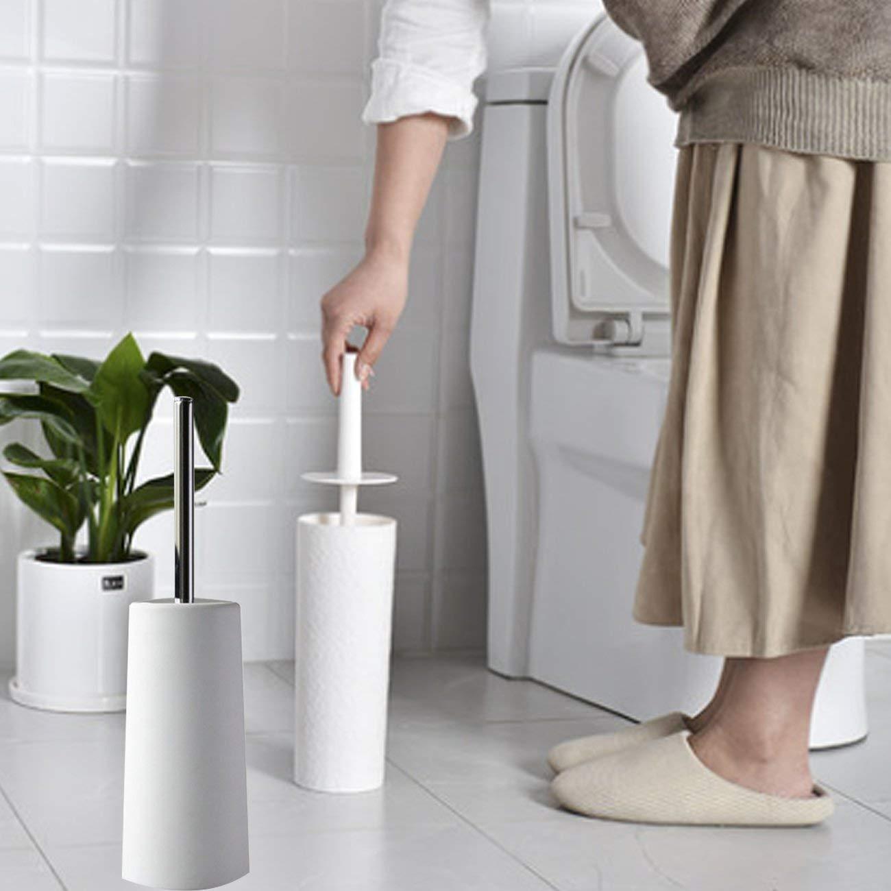 Durable Stainless Steel Toilet Brush