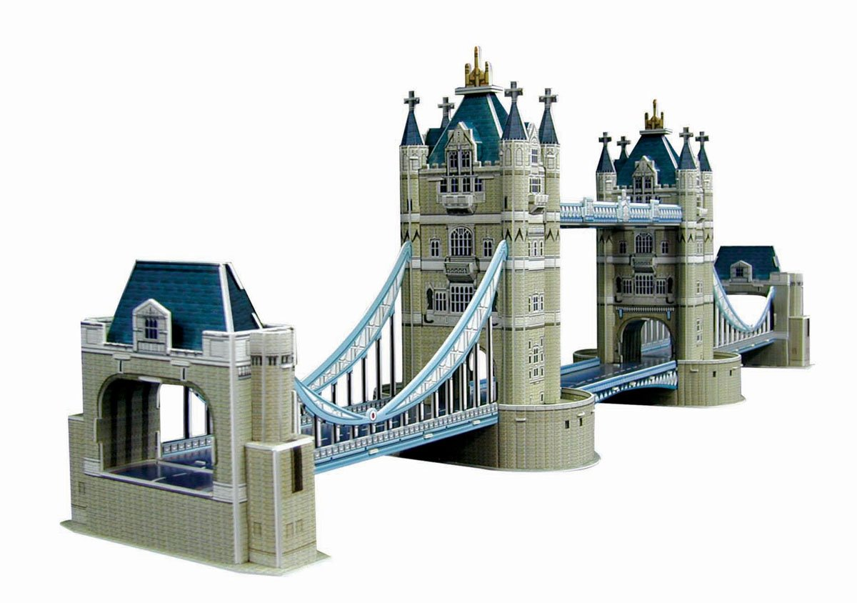 Barato Skynet POP Out Mundial No.04 rompecabezas tridimensional Tower Bridge (japn importacin)