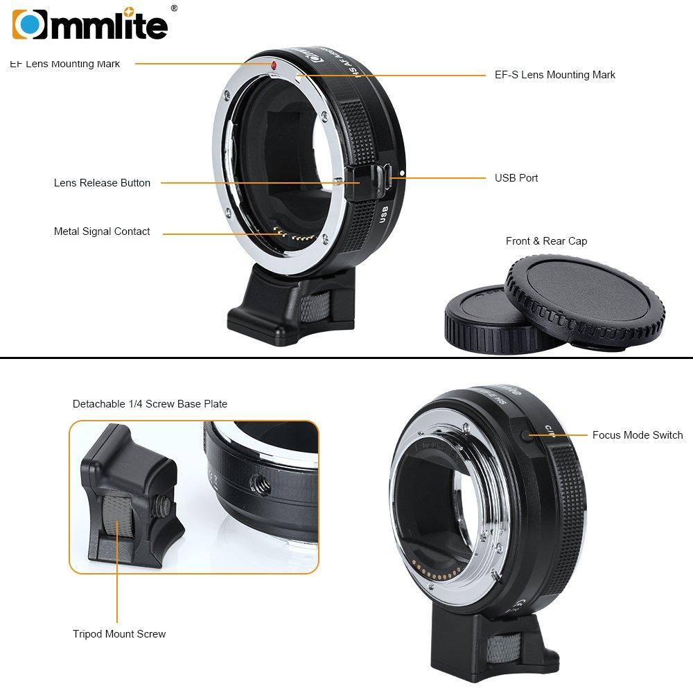 Ocamo EF Lens to E-mount High-speed Autofocus Phase Contrast Focus Lens CM-EF-E HS by Ocamo