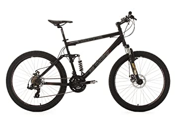 Fully Mountain Bike 26 Insomnia Black Ks Cycling