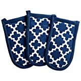 DII Cotton Lattice Pan Handle Holders, 6 x 3