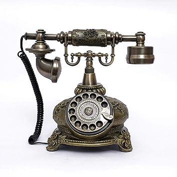 SUN HUIJIE Tocadiscos Teléfono Fijo Sala de Estar Teléfono ...