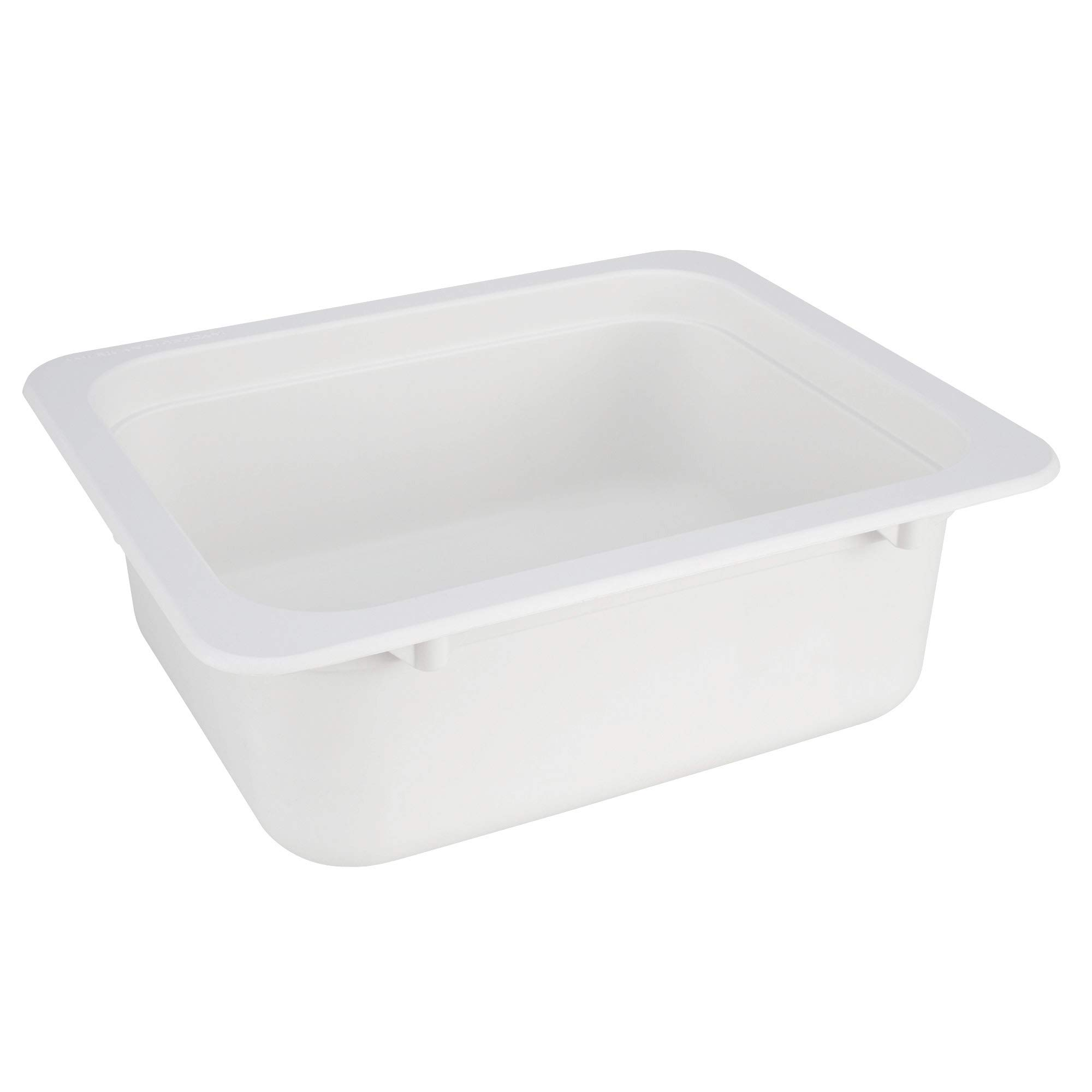 RV Sink | 13'' X 15'' Composite Bar Sink | White or Granite Black | (White)