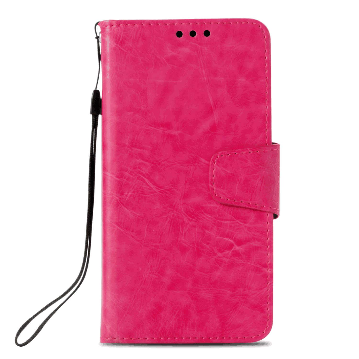 Huawei P20 Lite Flip Case Cover for Huawei P20 Lite Leather Mobile Phone Cover Kickstand Extra-Shockproof Business Card Holders with Free Waterproof-Bag Grey8