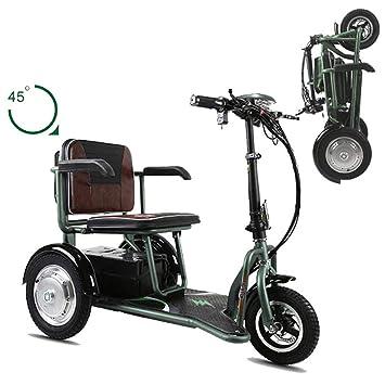Mini triciclo eléctrico plegable 48V20A Batería de litio ...