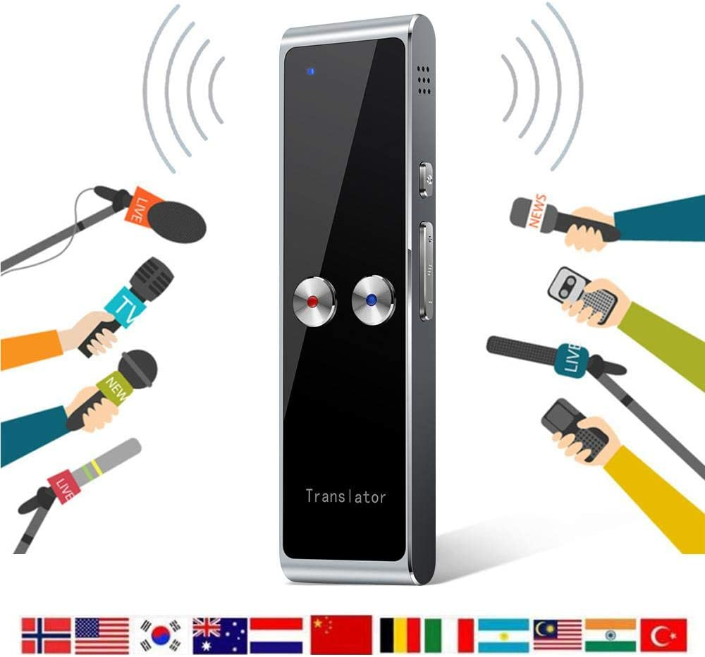 Roebii T8 Smart Language Translator Device Improved Version,Photography Translation,Fast And Accurate,Supports 68 Languages Instant Two-Way Translation,2.4g Wireless Connection Longer Use Time